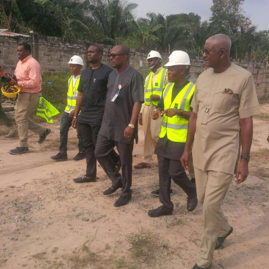 Official Working Site Visit of both the Executive Secretary of Nigerian Content & Monitoring Board